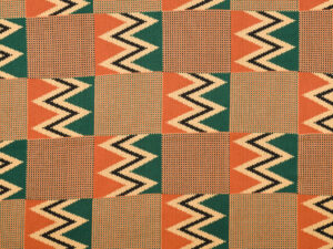 "Celebrating Crafts(wo)manship: Our Award-Winning ""Women's Work"" Collection 1 TING4293 Akan Kente Cloth"