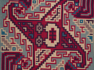 """Revisiting """"Women's Work"""" – The Americas 2 TING3930 Huari Tapestry"""