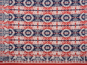 """Revisiting """"Women's Work"""" – The Americas 5 TING4317 Colonial Coverlet"""
